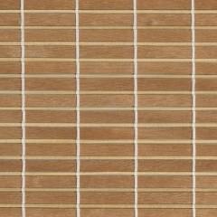 Textilie pro dřevěné rolety - Přírodní tmavá 7640