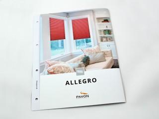 NOVINKA! - Kolekce ALLEGRO pro rolety plisé