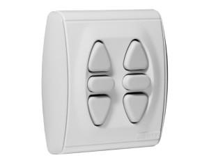 Stěnový vypínač Somfy Duo