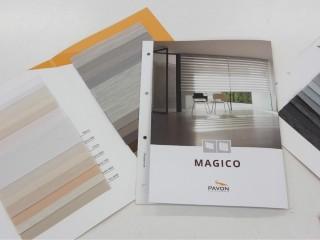Nová kolekce MAGICO - 26 druhů látek den a noc