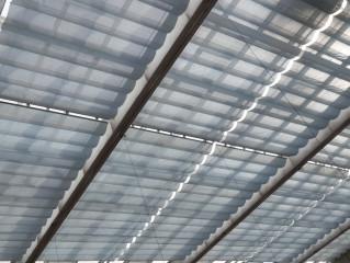 Baldachýn Reno - automatizované zastínění velkých střešních a stropních ploch