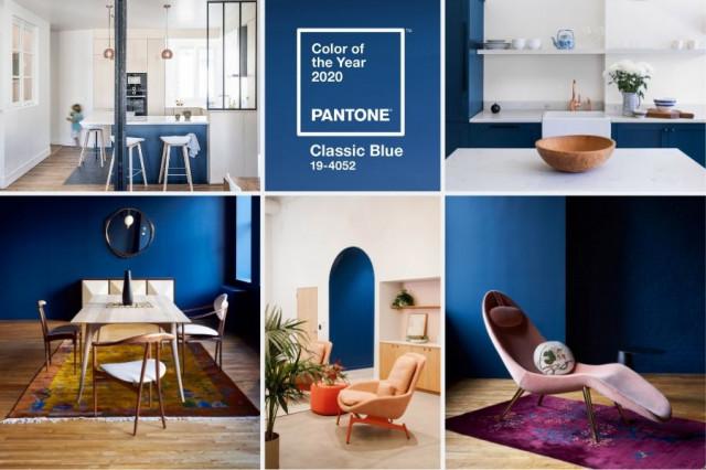 Pantone - Klasická modrá (Classic Blue)
