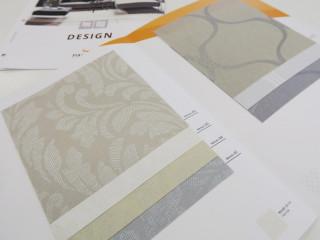 Část vzorované kolekce Design