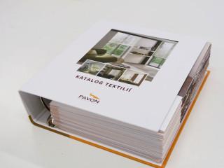 Kompletní katalog našich materiálů (vyjma látek pro plisé)