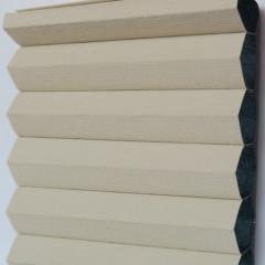 Textilie pro plisé rolety - Blackout Alu 0306 / kolekce dvojvrstvého PLISÉ Honeycomb, připomínající včelí plástve