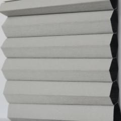 Textilie pro plisé rolety - Blackout Alu 0307 / kolekce dvojvrstvého PLISÉ Honeycomb, připomínající včelí plástve