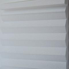 Textilie pro plisé rolety - Gala 0201 / kolekce dvojvrstvého PLISÉ Honeycomb, připomínající včelí plástve