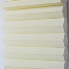 Textilie pro plisé rolety - Uni 0102 / kolekce dvojvrstvého PLISÉ Honeycomb, připomínající včelí plástve