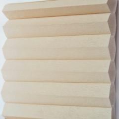 Textilie pro plisé rolety - Uni 0103 / kolekce dvojvrstvého PLISÉ Honeycomb, připomínající včelí plástve