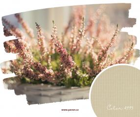 Béžová tkanina Color je nadčasová a ideálně neutrální pro každý interiér.