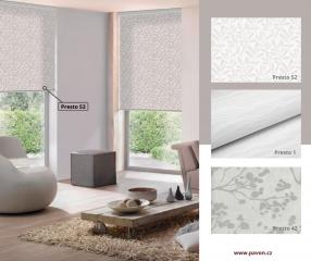 Vzorované roletové látky v kolekci Design oživí každý interiér.