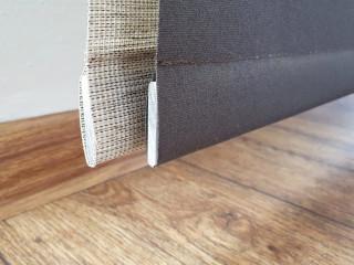 Japonská stěna Tapia - spodní zátěžová lišta panelů